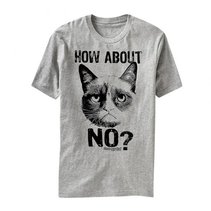 Camiseta gato Grumpy