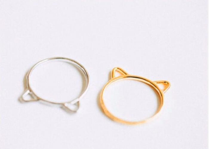 Anillo orejas de gato 2