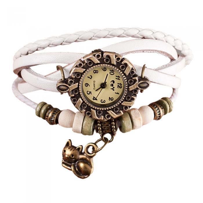 Reloj de pulsera correa trenzada