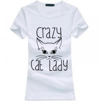 Camiseta Crazy Cat Lady 2