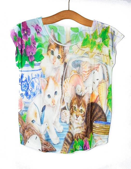 Camiseta gatitos 2
