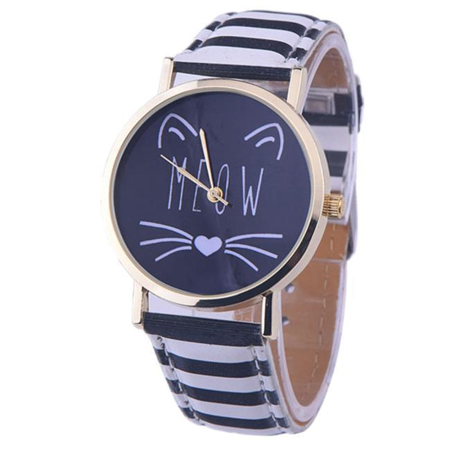 Reloj de pulsera gatuno 6