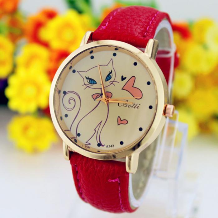 Reloj de pulsera gatuno 9