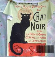 Camiseta Chat Noir