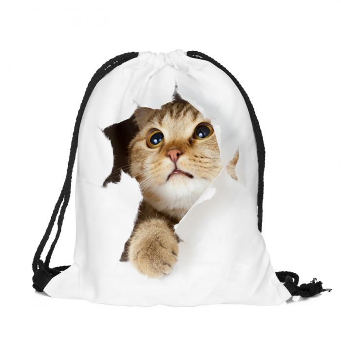 Mochila bolsa gato
