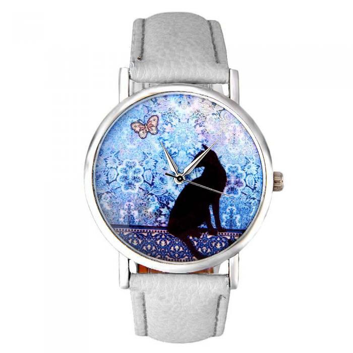 Reloj de pulsera gatuno 10