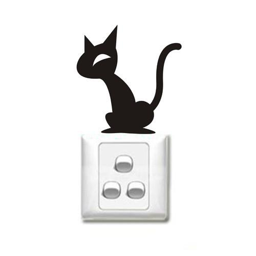 Vinilo decorativo gato 1